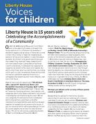 Liberty House Newsletter published 04/16/2014